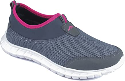 ASIAN Women's Riya-51 Running Shoes,Walking Shoes Mesh Sports Shoes (UK-5, Grey)