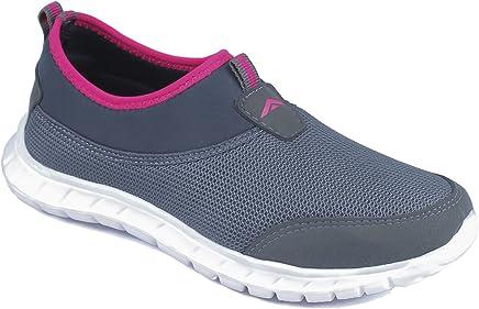 ASIAN Women's Riya-51 Running Shoes,Walking Shoes Mesh Sports Shoes (UK-6, Grey)