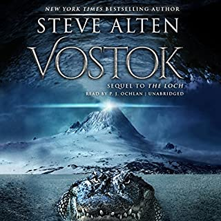 Vostok audiobook cover art
