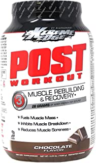 Bluebonnet Nutrition Extreme Edge Post Workout Protein Powder, Grass Fed Cows, 28 Grams of Protein, No Sugar Added, Gluten...