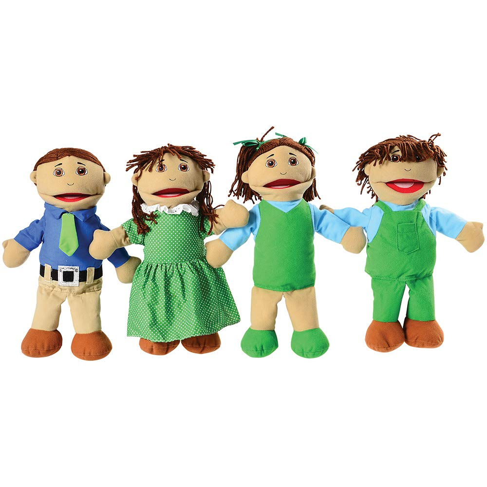 Constructive Playthings Hispanic Puppets Set Chicago Mall with Super-cheap Mothe of 4 15