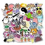 WYZDGTD 50 Unids/Set Pegatinas Naranja Vsco para Niñas para DIY Equipaje Teléfono Portátil Graffiti Pegatinas Vinly Impermeable DIY Calcomanías Calcomanías De Coche