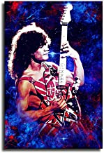 Eddie Van Halen Canvas Art Poster and Wall Art Picture Print Modern Family Bedroom Decor Posters