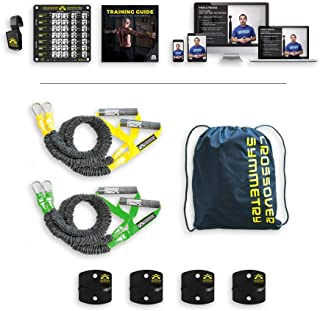 Crossover Symmetry Individual Package – Shoulder Health and Performance System. Perfect for Fitness, Warmups, Arm Care, Rotator Cuff Exercises or Rehab