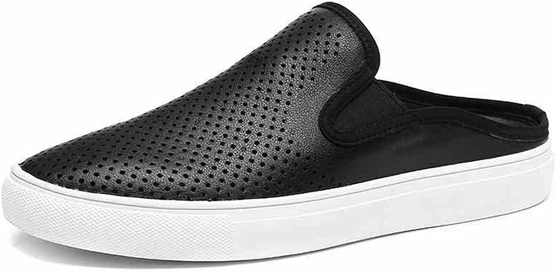 Men's shoes Feifei Summer Baotou Non-Slip Fashion Half Slipper