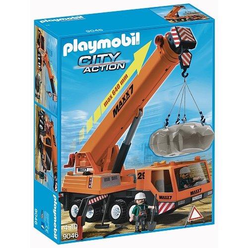 PLAYMOBIL 9046 Mobiler Schwerlast-Kran