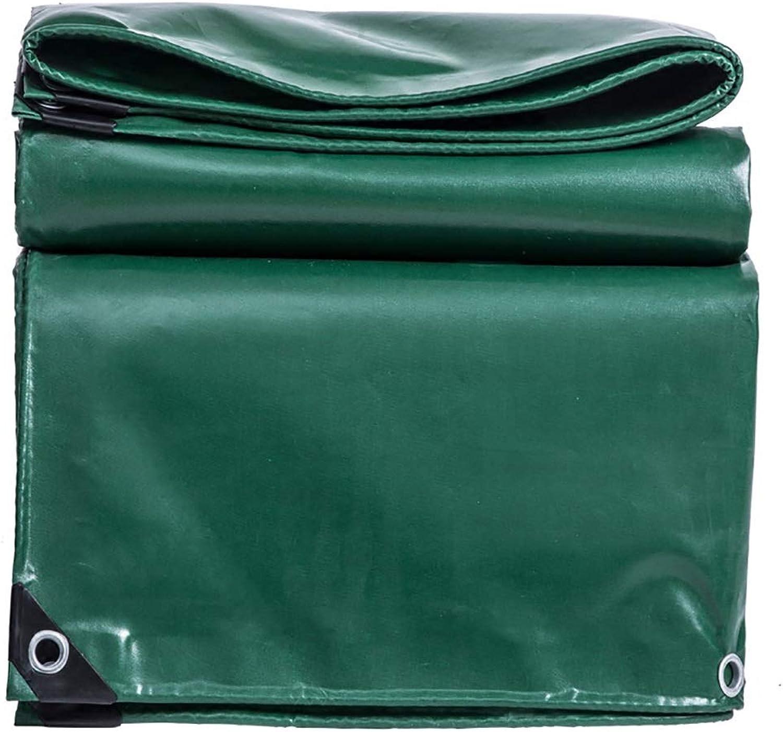 Zeltplanen Tarpaulin Canvas Linoleum Sunscreen Wasserdichte Frostschutzmittel Anti-Aging Outdoor Grün Grün Grün   13 Größen B07H3X2WJM  Rechtzeitige Aktualisierung 2a5258