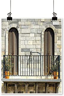 for Home Decoration Doors from Valencia Spain Daylight Mediterranean Residence Entering Old City Im for Home Decoration No Frame,12