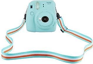 SAIKA Camera Shoulder Strap for Fujifilm Instax Mini 9/8 / 8+ / 7s / 25/26 / 50s / 70/90 Instant Camera, Adjustable Belt Neck Strap for Polaroid Camera and Digital Camera