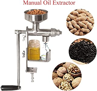 Hand Press Oil Press Machine Manual Oil Press Machine Household Oil Extractor Peanut Nuts Seeds Oil Press Machine Oil Extractor Machine Cold Press Oil Expeller