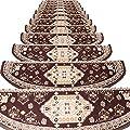 JIAJUAN Stair Carpet Treads Self-Sticking Non-Slip Stairs…