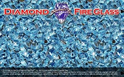 fire glass diamonds
