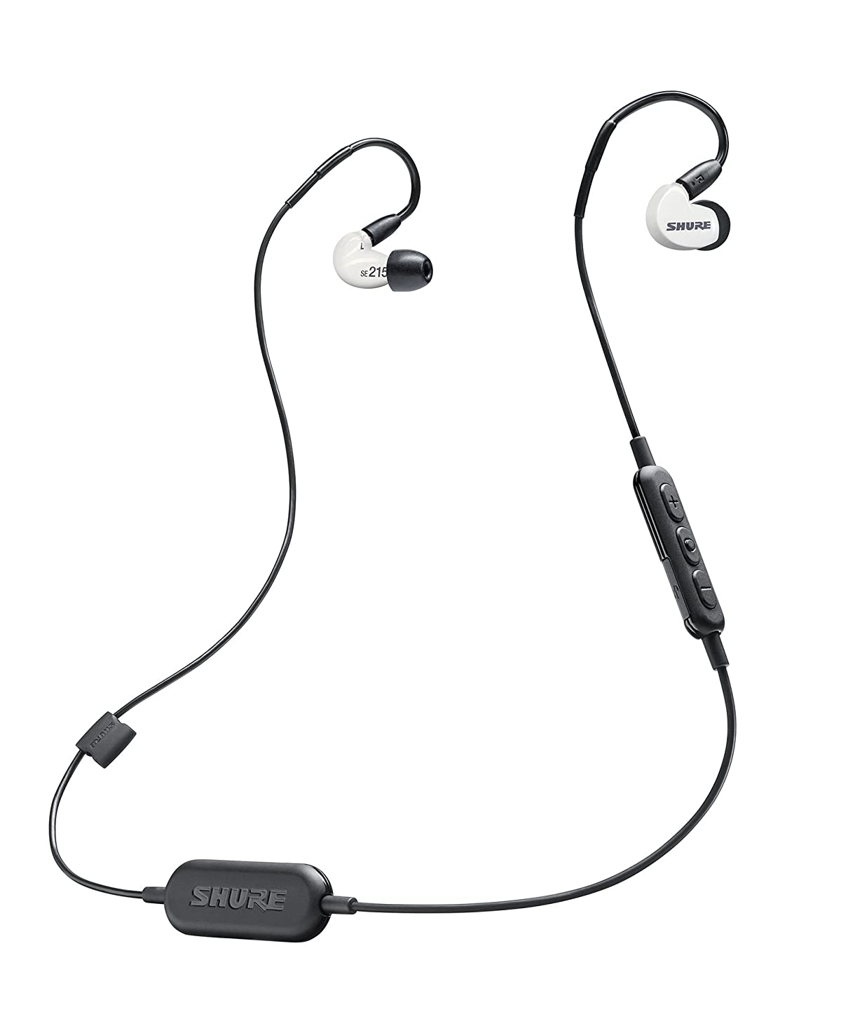 SHURE High Sound Insulation WIRELESS Earphone SE215 Special Edition (WHITE)【Japan Domestic genuine products】