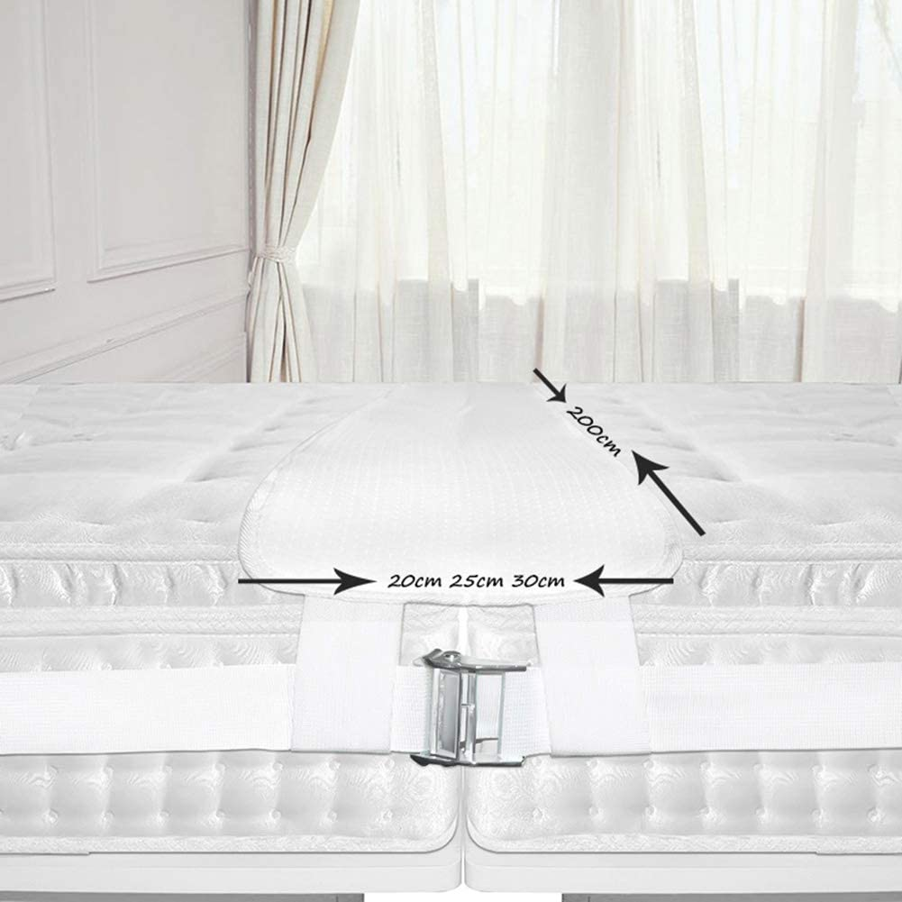 per letto matrimoniale per riunioni di famiglia fibbia in metallo da 25 cm//5 cm connettore per materasso a ponte Chutoral ponte