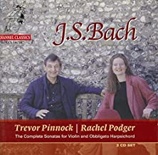 Bach: Complete Sonatas for Violin and Obbligato Harpsichord