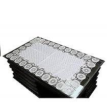 Kuber Industries Virgin Vinyl Soft Fabric Table Runner