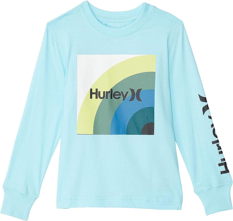 Hurley Boy's Long Sleeve Graphic T-Shirt (Little Kids)