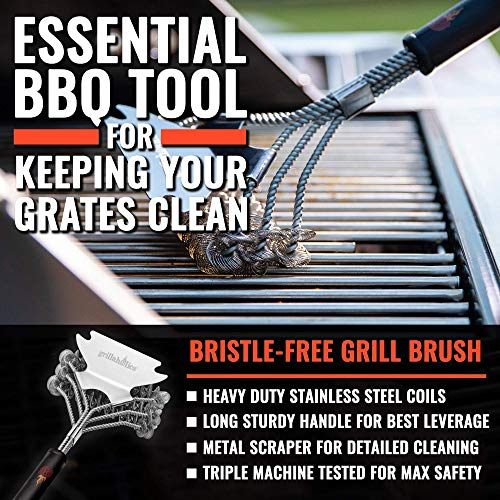 Grillaholics Bristle Free Grill Brush