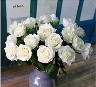 Best turquoise artificial roses Reviews