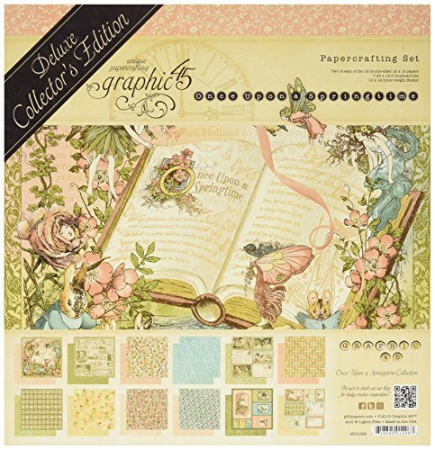 Price comparison product image Graphic 45 Once Upon A Springtime-Deluxe Collectors Edition