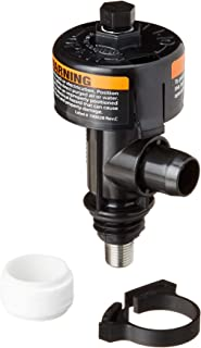 Pentair 98209804 Universal High Flow Manual Air Relief Valve with Instruction Labels Replacement Pool and Spa Filter
