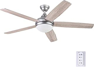 Prominence Home 51630-01 Ashby Ceiling Fan, 52, Pewter
