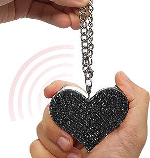زنگ ساعت Keychain ضربان قلب سگ امنیتی گارد سگ ، زنگ 130dB ، زنگ هشدار دفاع شخصی