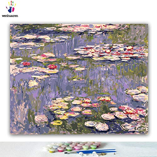 Paint by Number Kits 16 x 20 inch Canvas DIY Oil Painting for Kids,