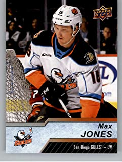 2018-19 Upper Deck AHL Hockey #2 Max Jones RC Rookie Card San Diego Gulls Official UD American Hockey League Trading Card