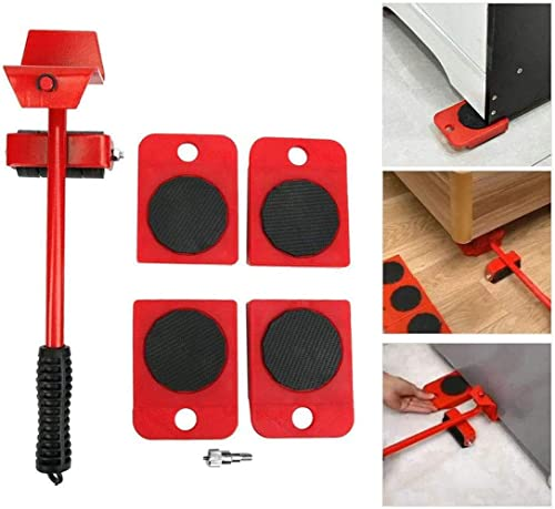 VPLLEX Heavy Furniture Lifter Transport Tools with Sliders for Easy and Safe Shifting Labor Saving Move Tool Equipment Moving and Lifting System