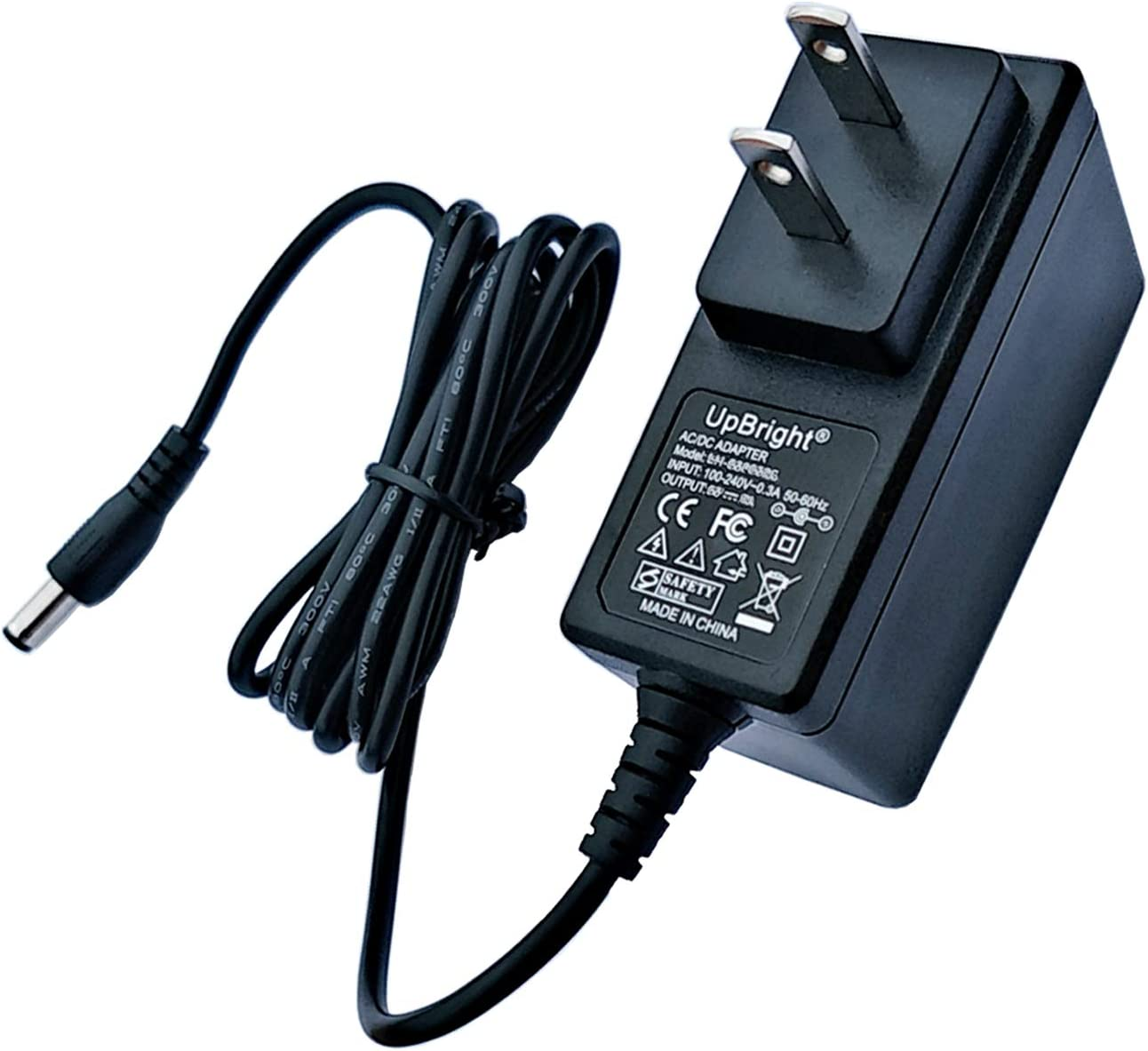 UpBright AC/DC Adapter Compatible with Goovi by ONSON D380 1600PA D382 J10C J20C F007 F007C Robotic Smart Vacuum Cleaner Docking Station GV2019 Diggro KK320A1N D600 D300 19V Power Battery Charger