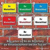 WERBEPUNKT. Schild Wunschtext Hinweisschild Firmenschild Praxisschild wetterfest, 600 x 400 mm