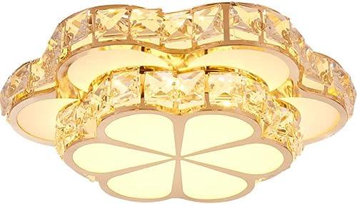 Plafonnier LED, Montage Encastré, Lampe à économie D'énergie Lampe à Cristal LED Chambre à Coucher, Cuisine, Couloir, Bureau, Cage D'escalier, Salle à Manger
