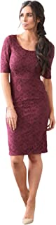Mikarose June Modest Pencil Dress In Lace