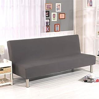 G&X - Funda para sofá o Cama sin Brazos de poliéster y Licra elástica, 3 plazas, elástica, Plegable, para sofá o Cama Plegable