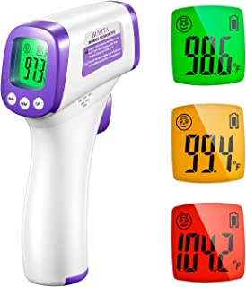 Infrared Thermometer for Adults, Non Contact Forehead Thermometer with Fever Alarm, Accurate Reading and Memory Function, ...