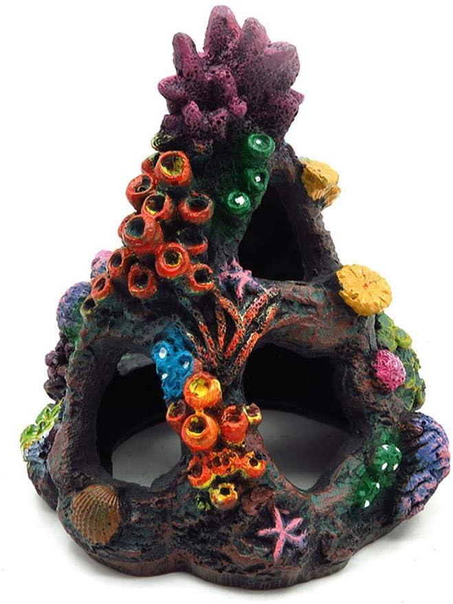 Aihotim Coral Aquarium Reef Decoration Fish Resin Mountai Free Shipping Cheap Bargain Gift - famous Tank