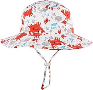 Onlineb2c Men Bucket Hats Women Summer Fishin Cap Wide Brim UV Protection Flap Hat Beach Hat