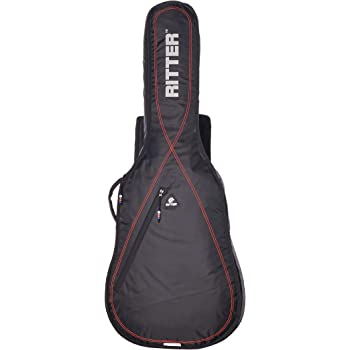 Ritter RGS3-C CLAS - Funda/estuche para guitarra acustica-clasica, logo reflectante, color gris oscuro: Amazon.es: Instrumentos musicales