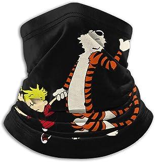 Emonye Calvin and Hobbes Warmer Scarf Soft Men Women Fleece Face Bandana Cover