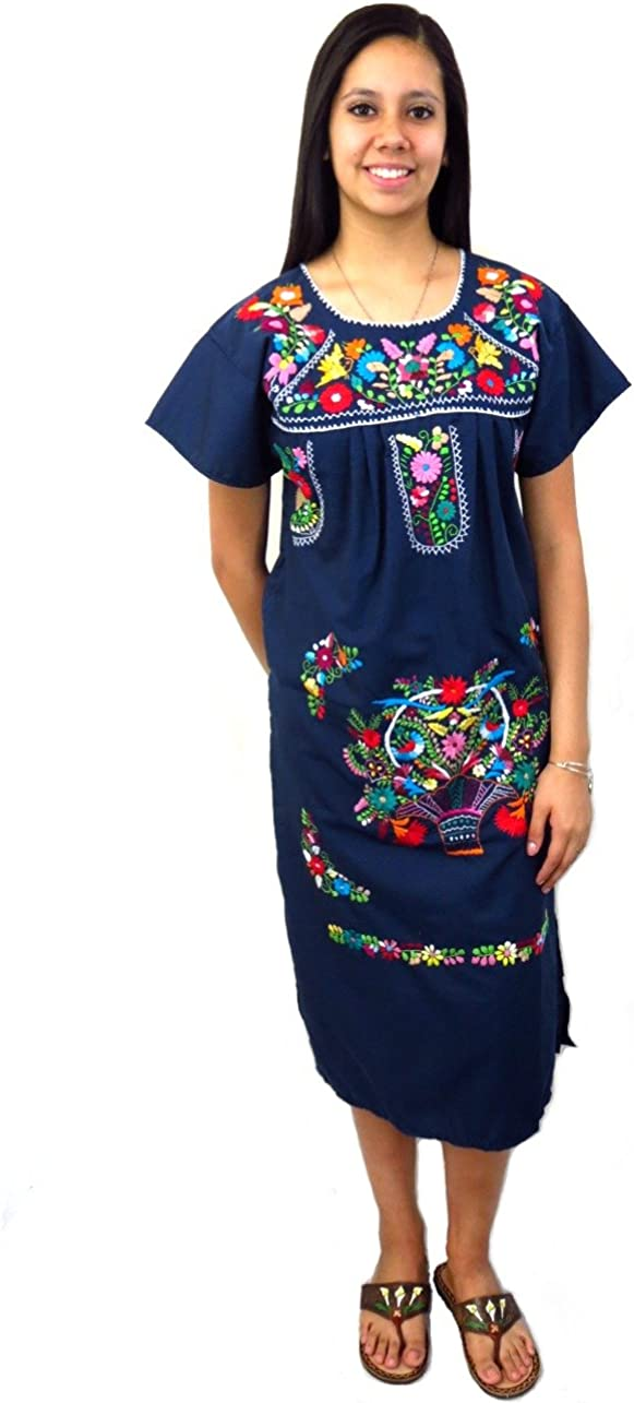 Traditional Max 60% San Diego Mall OFF Mexican Dress Tehuacan
