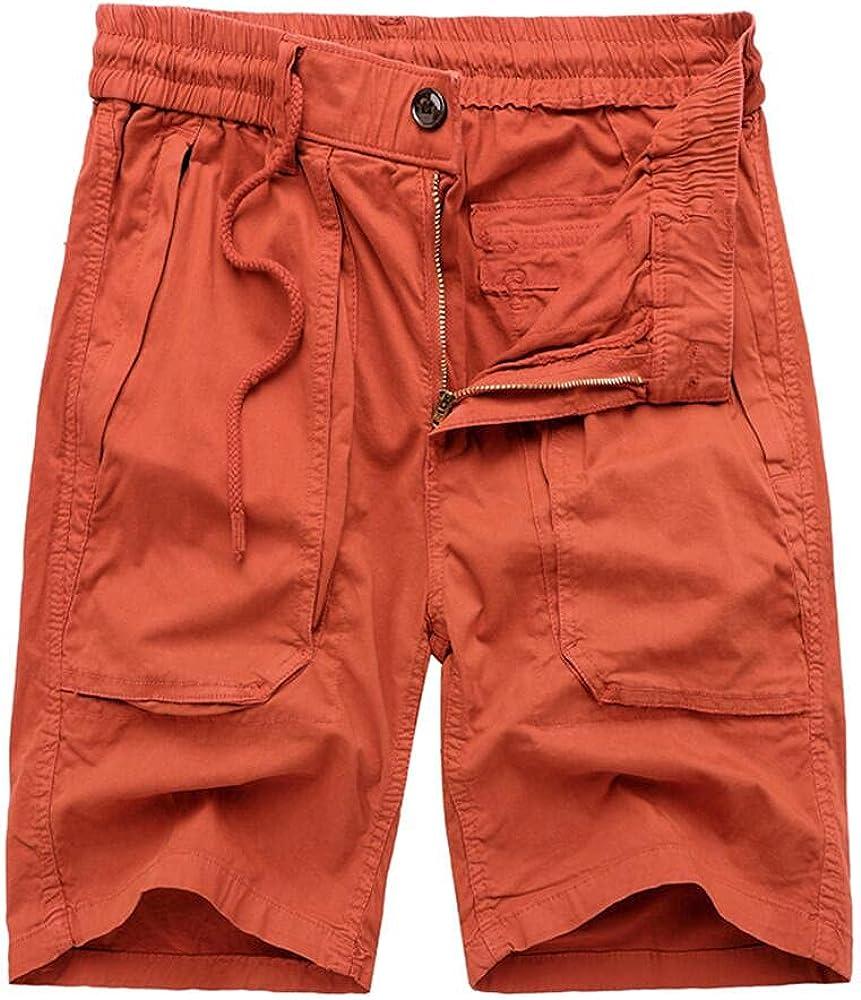 Mens Summer Shorts Cargo Shorts Outdoor Climbing Shorts Multi-Pockets Cotton Classic