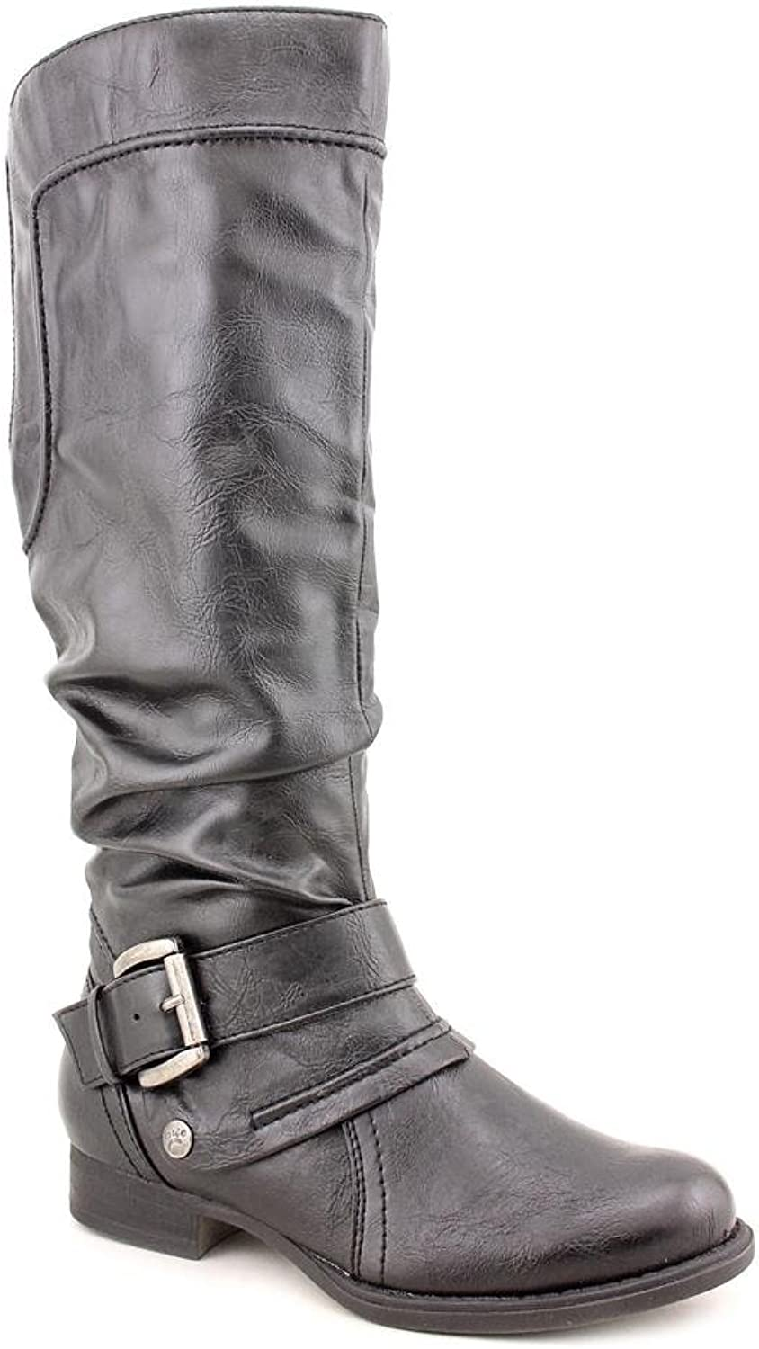 Baretraps Julee Womens Faux Leather Fashion Knee-High Boots