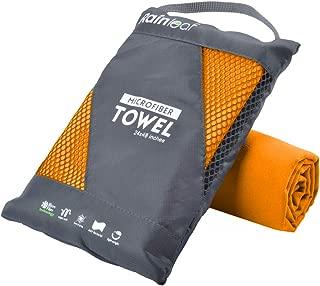 Rainleaf Microfiber Towel Perfect Travel & Sports &Beach...