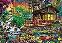 SHanguoY大人と子供のための1000ピースの木製パズル、農場の風景、田園風景、家族のゲーム、子供の誕生日プレゼント、ハロウィーンの贈り物、クリスマスのサプライズギフト、アートパズル、家の壁の装飾