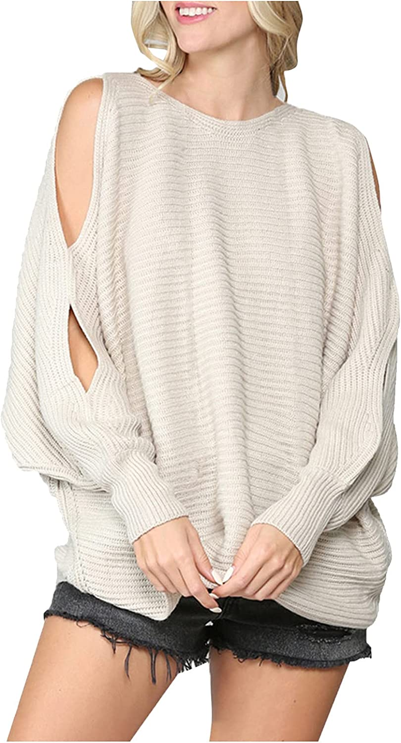 Women Knitw Sweater Casual Solid Color Long Sleeve Pullover V-Neck Slim Fit Blouse Tops