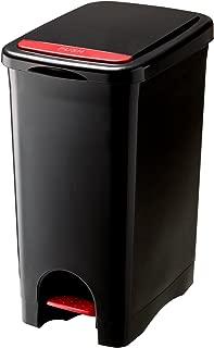 リス ゴミ箱 アルバーノ プッシュペタルペール 45L ブラック