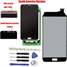 Draxlgon LCD Display Touch Screen Digitizer Assembly Replacement for Galaxy J7 Prime G610 G6100 G610F SM- G610M/DS SM-610F/DS On7 2016 South America Version (Black)