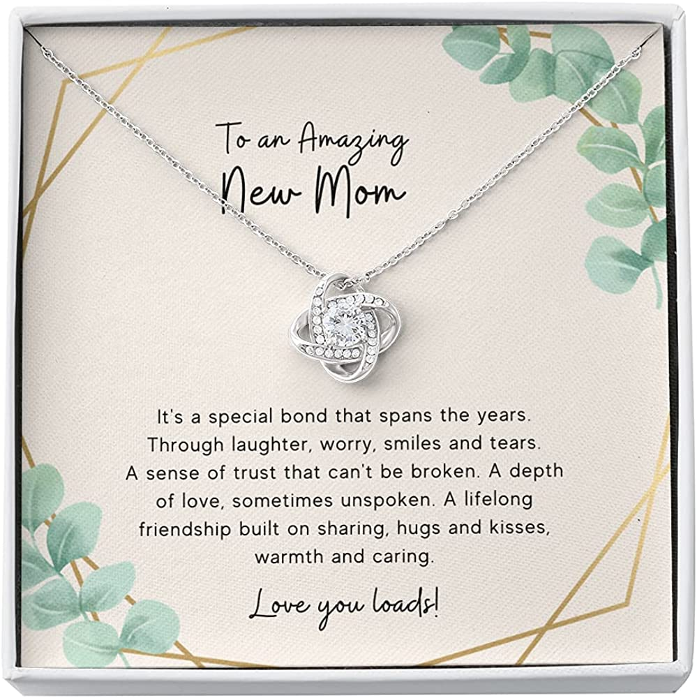 New Mom, First Time Mom Gift, New Mom Gift Jewelry, Gift for New Mom Necklace, New Mommy Gift For Baby Shower ( Free Normal Box )