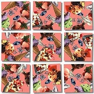 B Dazzle Ice Cream Scramble Squares 9 Piece Puzzle